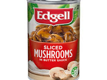 Edgell Sliced Mushrooms in Butter Sauce 410g