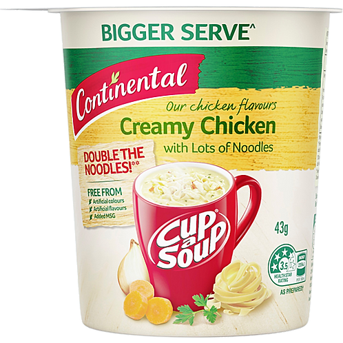 Continental Cup A Soup Creamy Chicken Noodles 43g