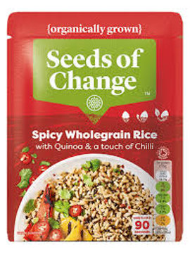 Seeds of Change Spicy Brown Rice & Chilli 240g