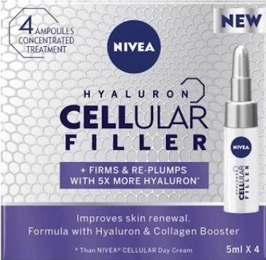 Nivea Cellular Filler 4 x Vials