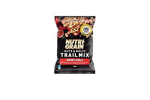 Nutri-Grain® Nuts and Bolts Trail Mix - Sweet Chilli