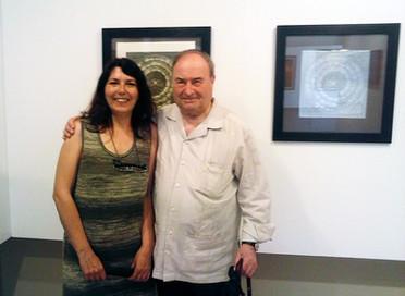 Con Joan Maneu.