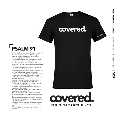 Covered Signature Tee