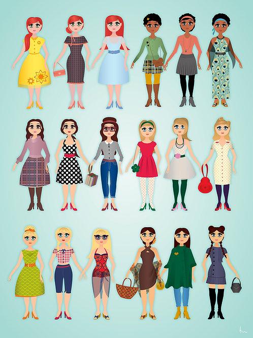 Fashion meisjes
