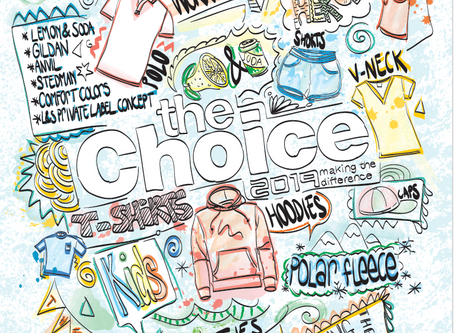 Ontwerp The Choice catalogus