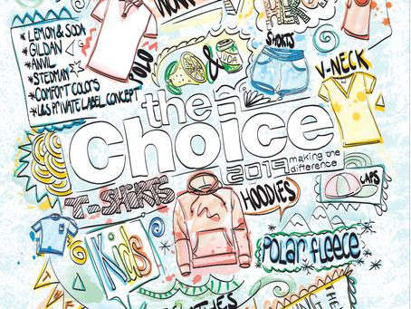 Ontwerp The Choice catalogus