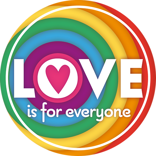 Sticker Love is for everyone
