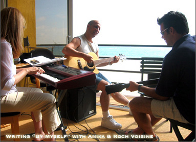Roch Voisine Writing Session