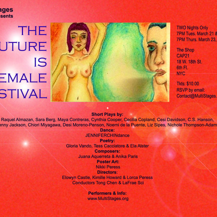 THE FUTURE IS FEMALE SHOW NYC
