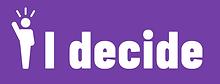 I Decide Logo