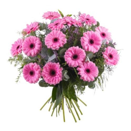 Gerberastrauss rosa ab 7 Stück