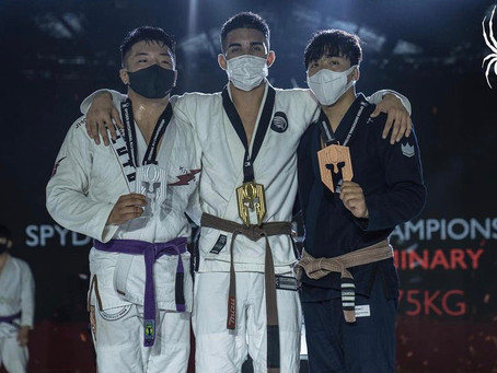 """Jhonathan """"Moicano"""" Marques Takes Gold at the Spyder Korea Road To Black"""