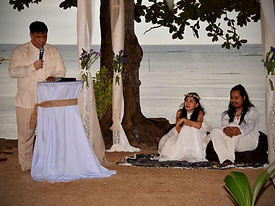 Beach Wedding Ceremony 1