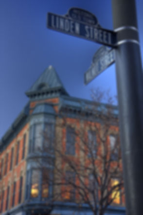historic old town of Fort Collins, Color