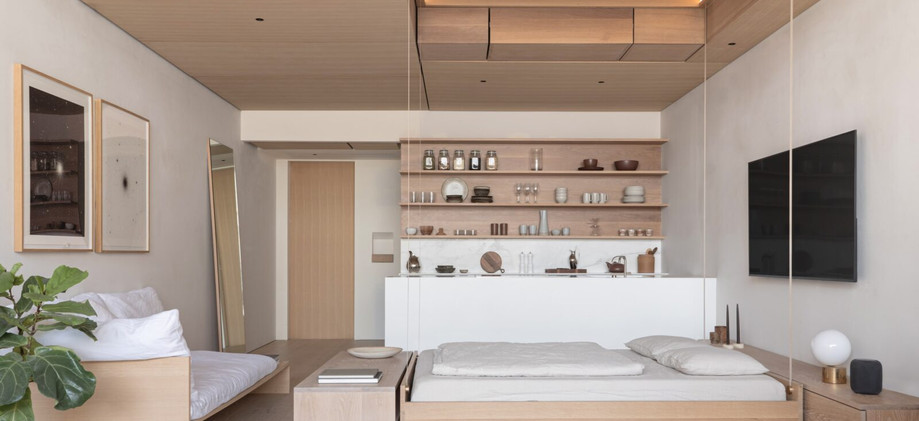 Studio & 1 BR apartments