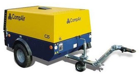 175cfm Air Compressor with Demolition Breakers Pack
