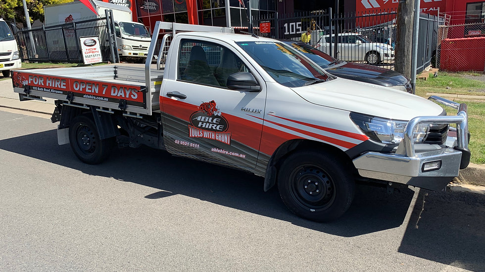 Table Top Ute (1T)