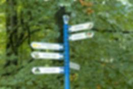 Wegwijzer Park Sonsbeek
