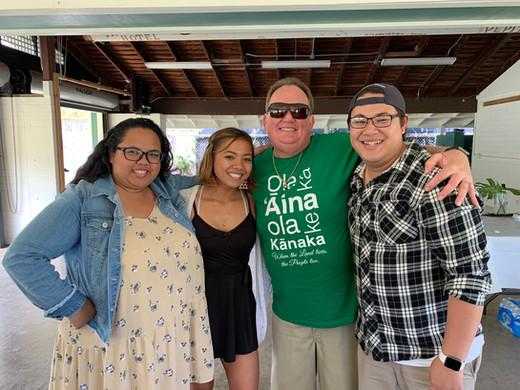 Keʻolu and Uncle Kelly Boy DeLima