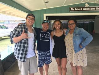 Keʻolu and Jody Kamisato