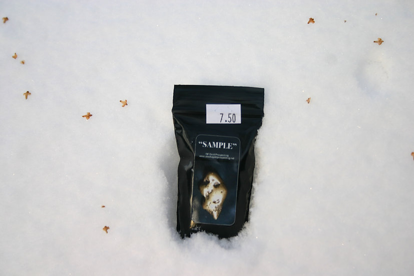 Sample Bag-Alaska Paydirt