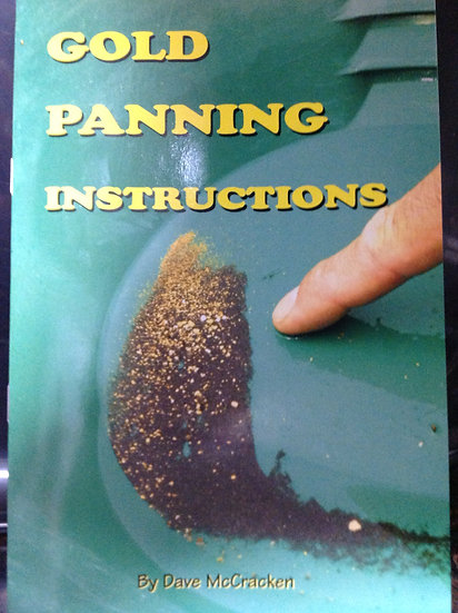 Book on How to Pan for Gold