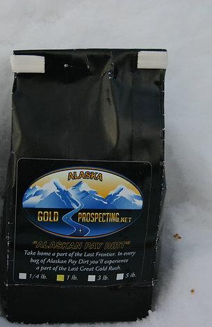 One Pound Alaska Pay Dirt