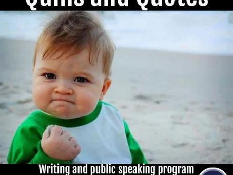 Kids Writing Program