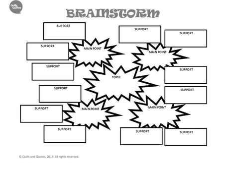 Brainstorm Basics: Creative, Persuasive and Expository Essays