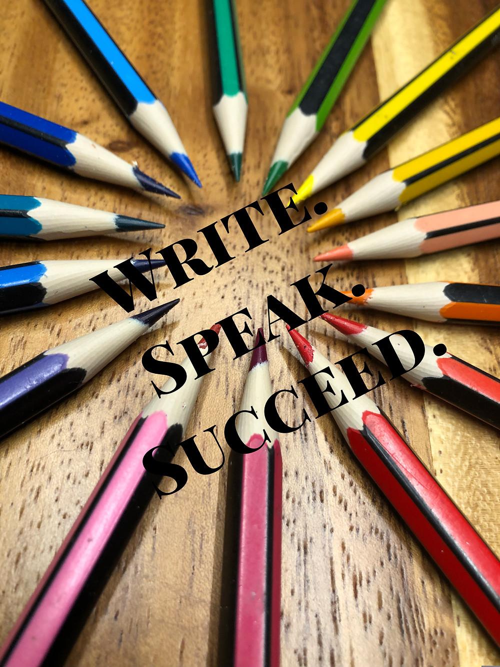 write.speak.succeed.