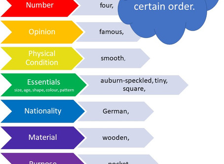 How to Order Adjectives