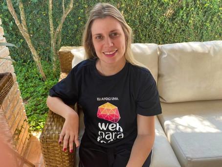 """""""O ideal seria eu comandar com a minha voz meu computador e tudo na web"""", sonha Nathalia Blagevitch"""