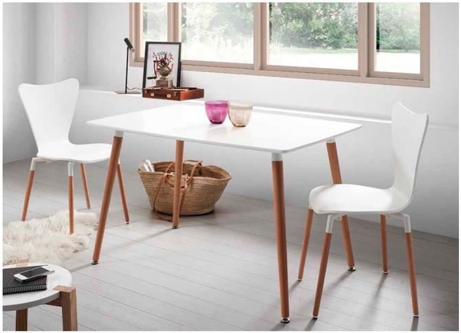 Estilo escandinavo, simpleza y calidez para tus espacios.