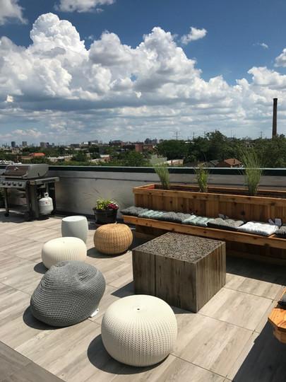 Rooftop Outdoor Living Space