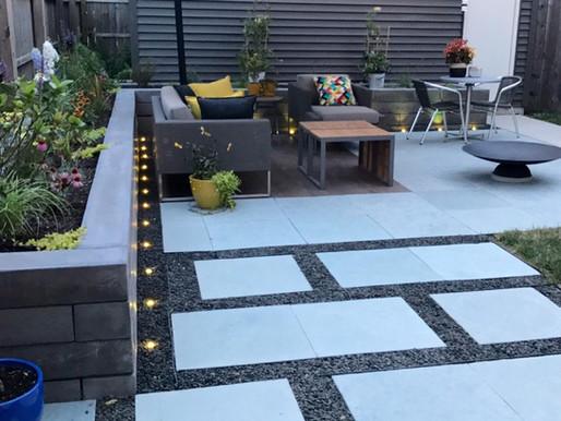 2017 Backyard Patio - Hardscape