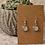 Thumbnail: Silver Super Sparkle Glitter Earrings