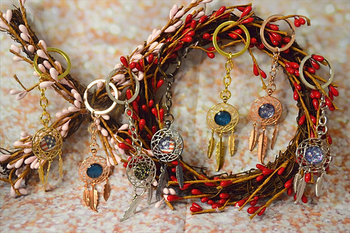 Feather Key Chains