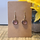 Thumbnail: Brown Glitter Earrings