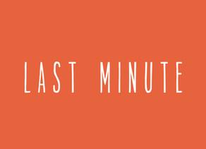 last minute oproep 🌞🌻✨