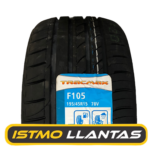Llanta 195/45R15 - TRACMAX F105