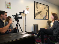 Kim Arndt's Interview BTS