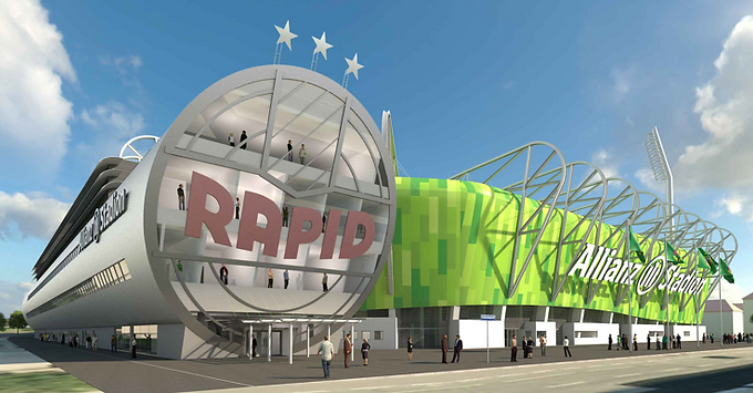 Rapid Stadion, Keißlergasse 16, 1140 Wien