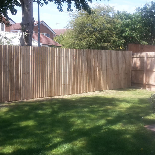 7ft feather edge fence