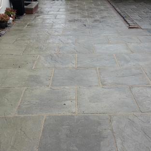 Concrete slabs pro joint grout
