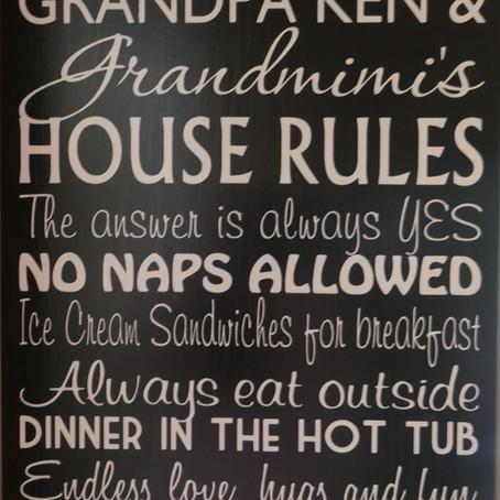 Grandmimi's Rules