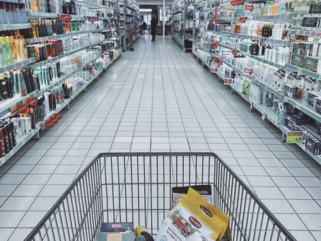 Einkaufsservice für kranke und alte Einwohner