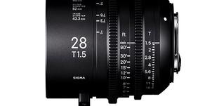 Ecco l'obiettivo Sigma cine 28mm T.1.5