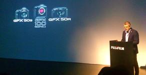 Buone notizie dalla presentazione della Fuji GFX100 a Milano!