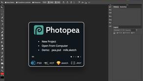 Photopea , il clone di Photoshop gratuito e online con ottimi strumenti avanzati.