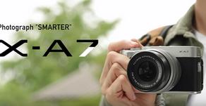 Fujifilm X-A7 , presentata la nuova entry-level